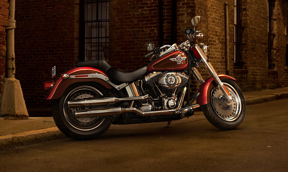 2013 Harley Davidson Fat Boy Softail Is Still The Iconic