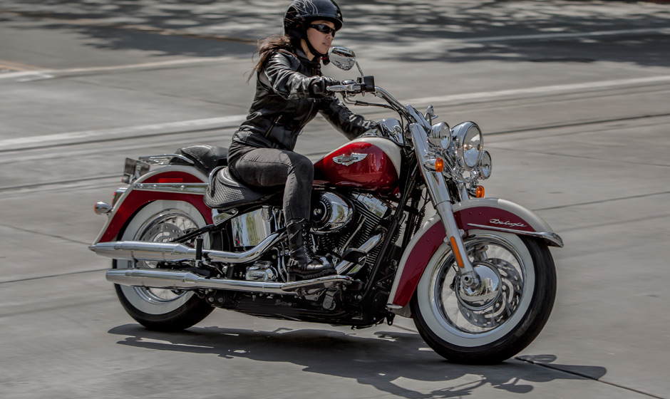 2013 Harley Davidson Softail Deluxe The Retro Bobber