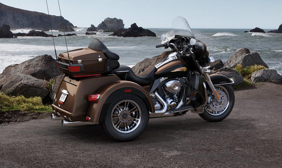 2013 harley davidson tri glide ultra classic the genuine trike autoevolution. Black Bedroom Furniture Sets. Home Design Ideas