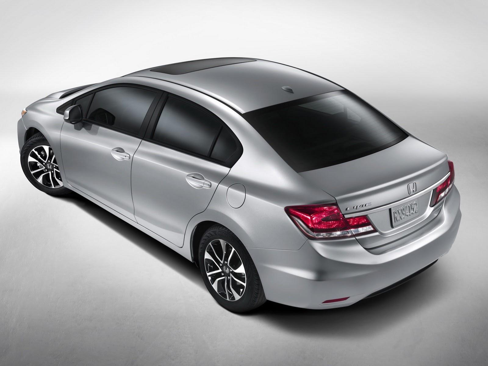 2013 honda civic facelift gets accord look autoevolution for Honda accord vs civic