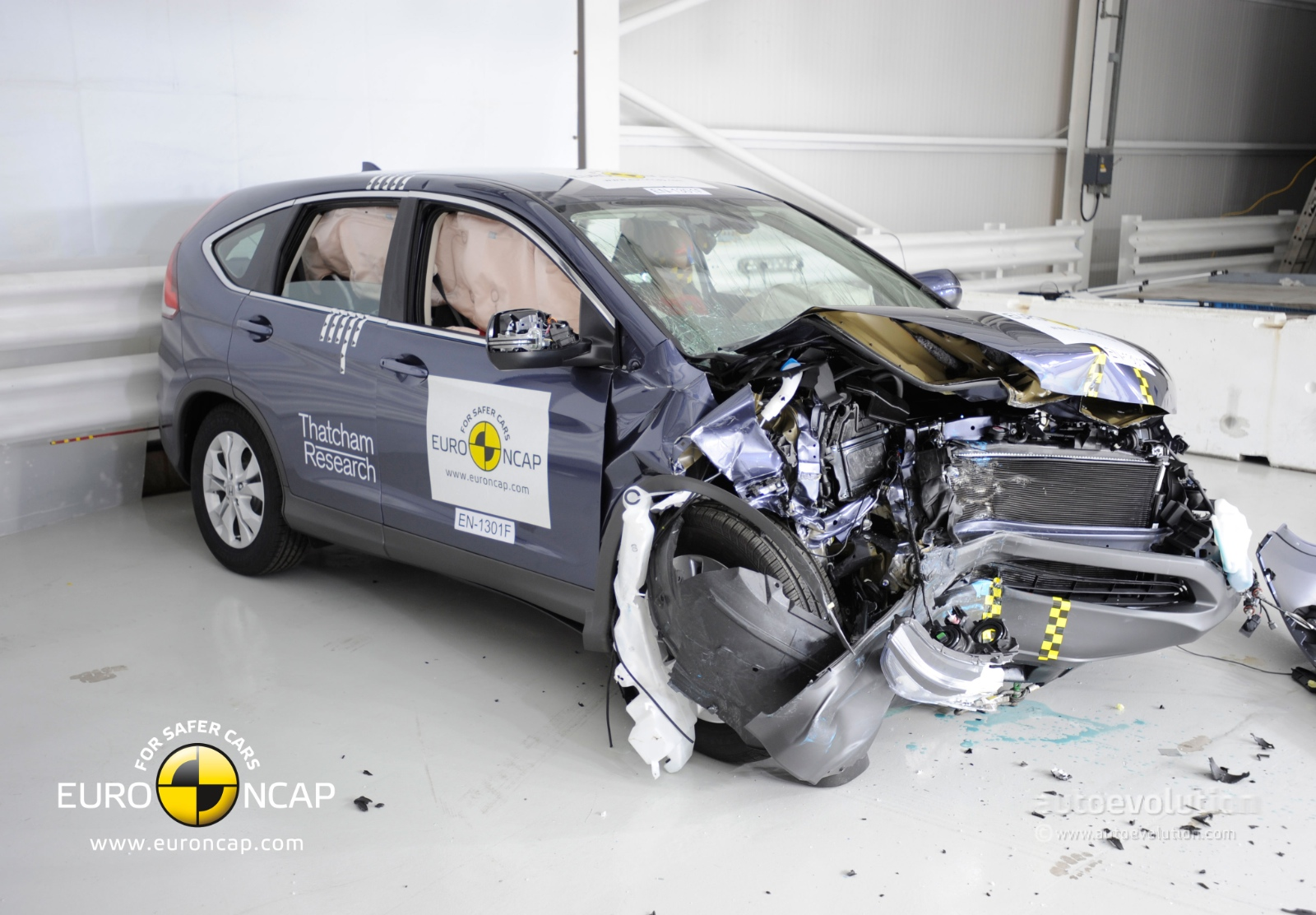 ... 2013 Honda CR V Euro NCAP Crash Tests ...