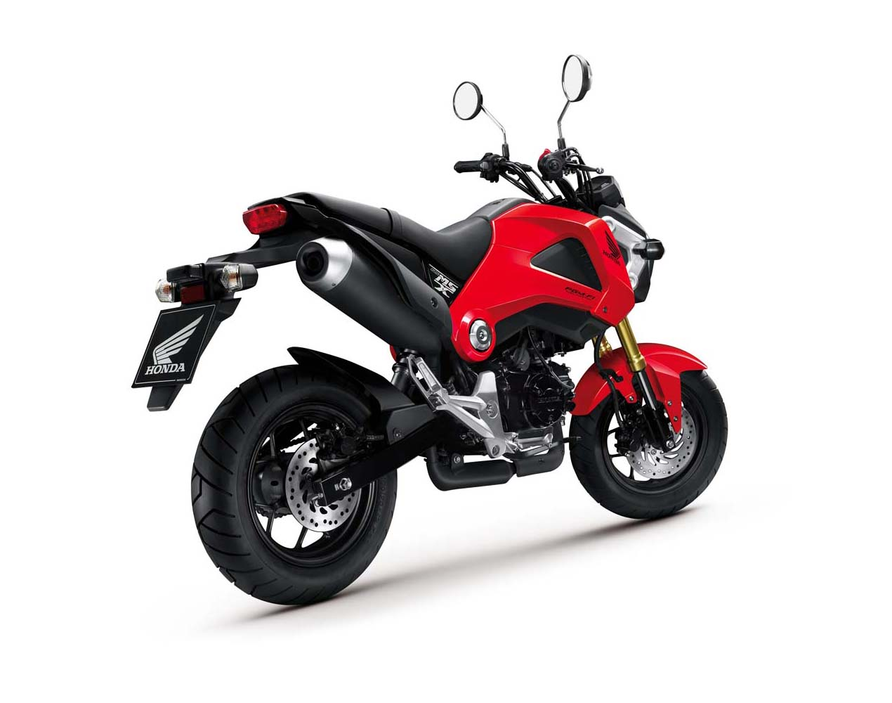 2013 honda msx125 detailed pictures autoevolution. Black Bedroom Furniture Sets. Home Design Ideas