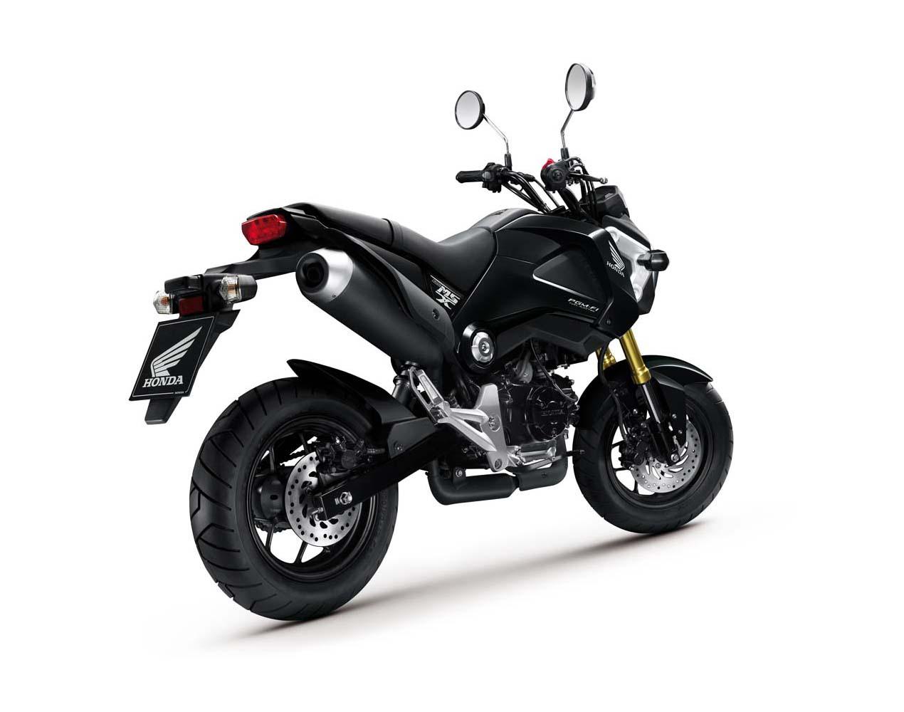 2013 Honda Msx125 Detailed Pictures Autoevolution