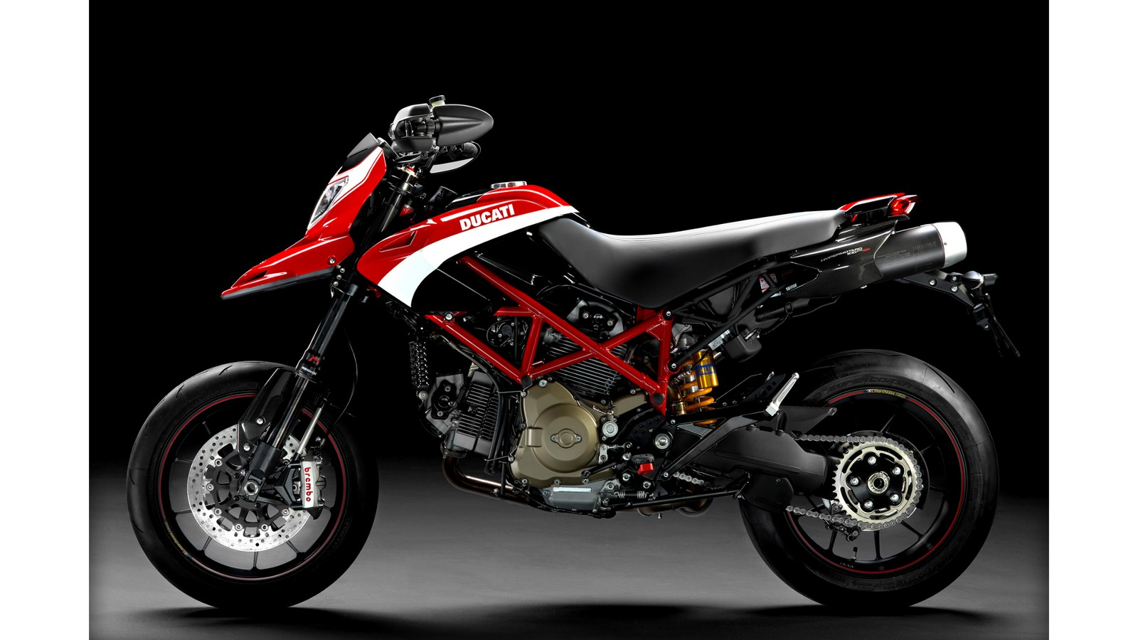 2013 ducati hypermotard 1100evo sp carries on the heritage autoevolution. Black Bedroom Furniture Sets. Home Design Ideas