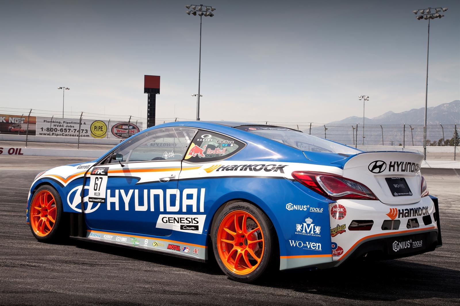Nissan Warranties 2013 Hyundai Genesis Coupe Formula Drift Car - autoevolution