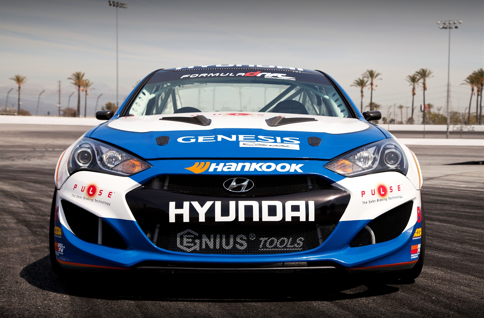 2013 Hyundai Genesis Coupe Formula Drift Car Autoevolution
