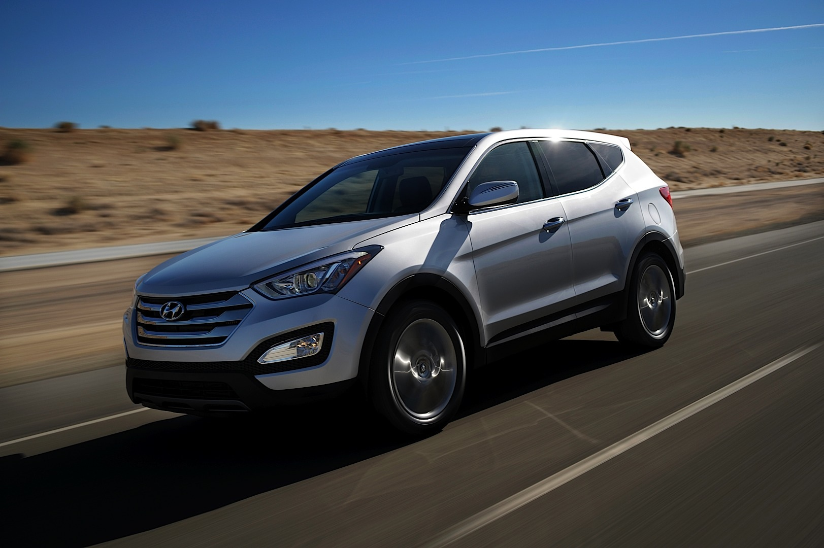 2013 hyundai santa fe sport ix45 revealed autoevolution. Black Bedroom Furniture Sets. Home Design Ideas