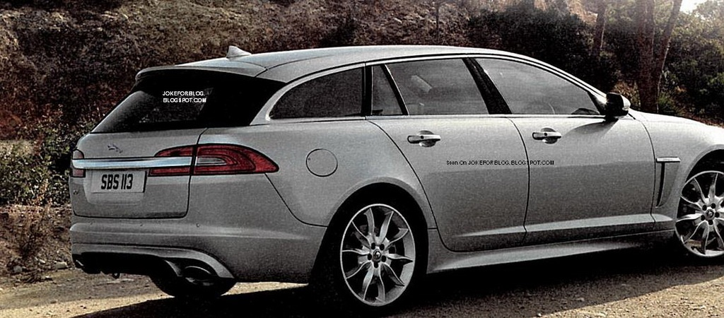 2013 jaguar xf sportbrake photos leaked autoevolution. Black Bedroom Furniture Sets. Home Design Ideas