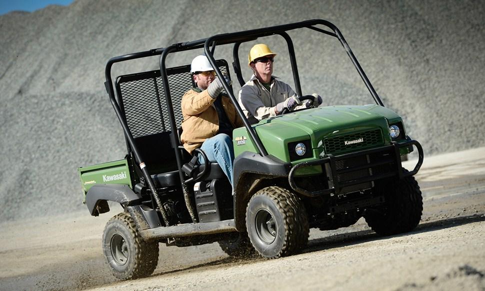 2013 kawasaki mule 4010 trans 4x4 diesel, convenience and power in