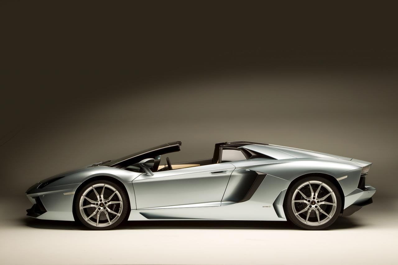2013 Lamborghini Aventador Lp700 4 Roadster Revealed