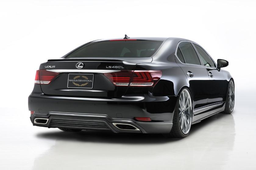 2013 Lexus Ls By Wald International Previewed Autoevolution