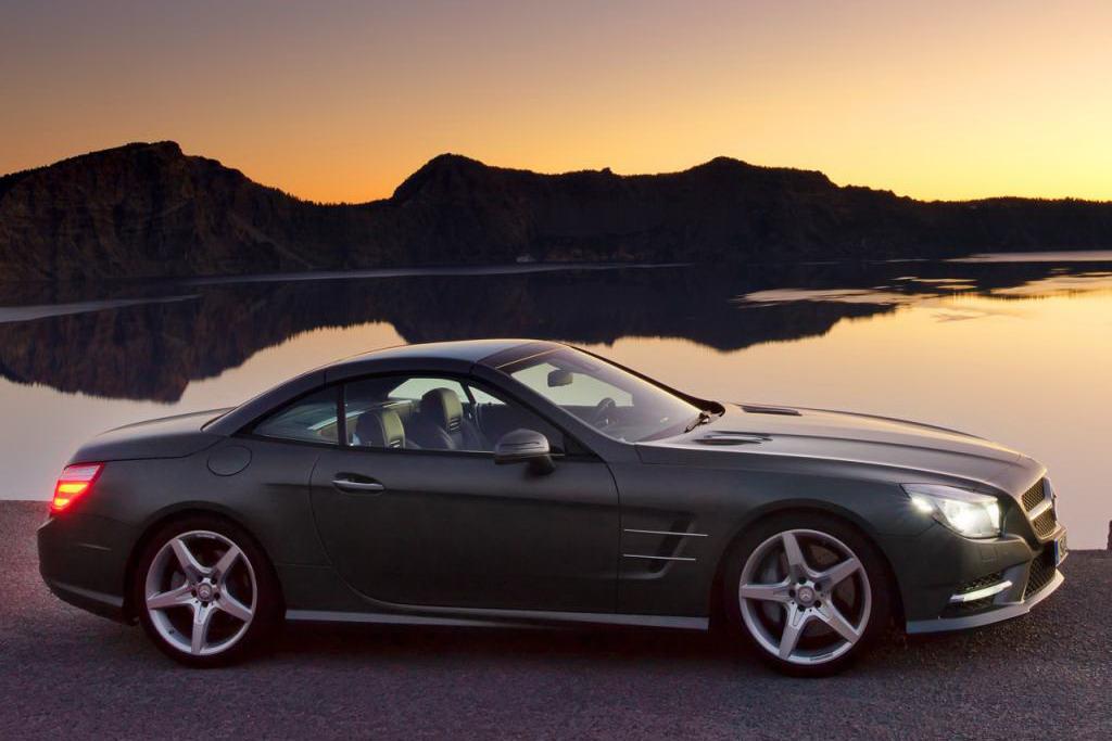 2013 mercedes benz sl roadster unveiled autoevolution for Mercedes benz sl 2013