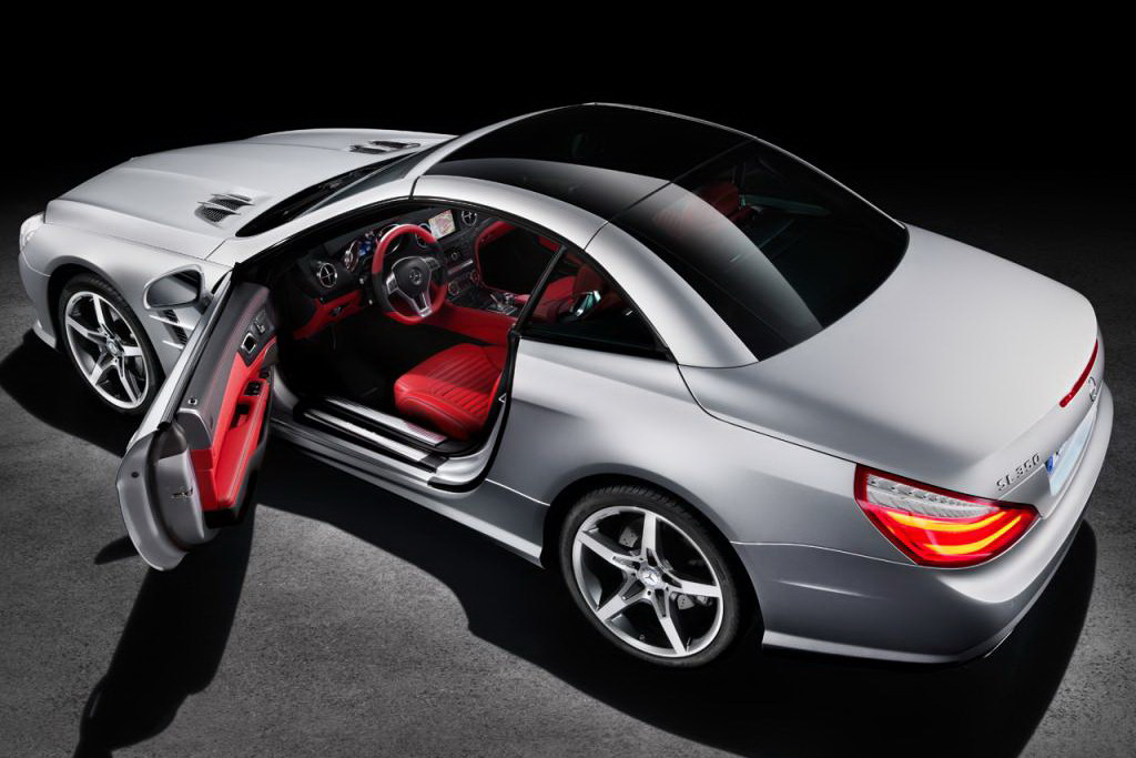 2013 Mercedes Benz SL Roadster Unveiled  autoevolution