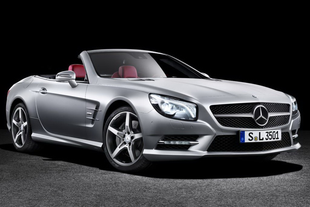 2013 mercedes r231 sl europe launch pricing announced for Mercedes benz sl price