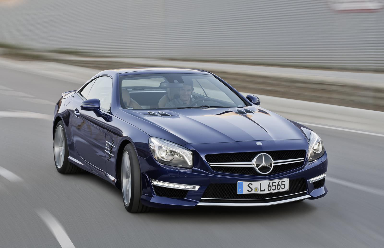 2013 Mercedes SL 65 AMG Revealed: V12 Biturbo - autoevolution