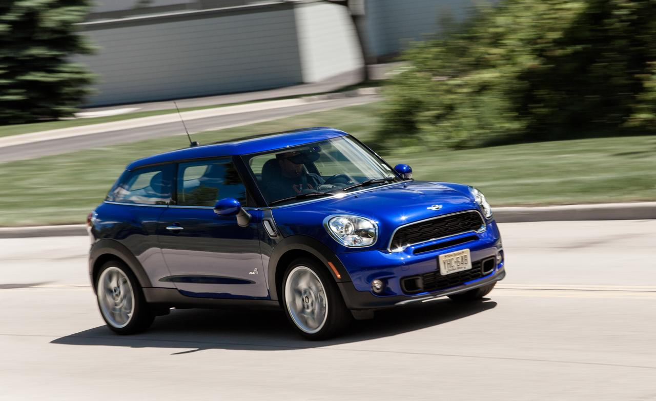 2013 mini cooper s paceman all4 review by car and driver. Black Bedroom Furniture Sets. Home Design Ideas