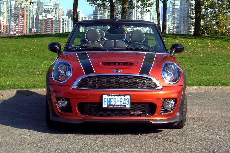 2013 Mini Jcw Convertible Review By Autos Ca Autoevolution