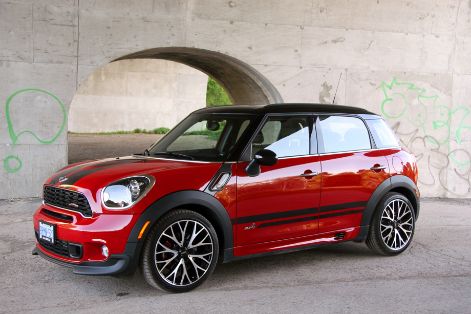 2013 mini jcw countryman all4 review by autoevolution. Black Bedroom Furniture Sets. Home Design Ideas