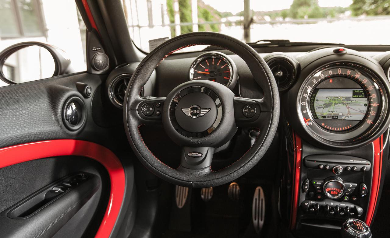 2013 Mini John Cooper Works Countryman All4 Review By Car And Driver Autoevolution