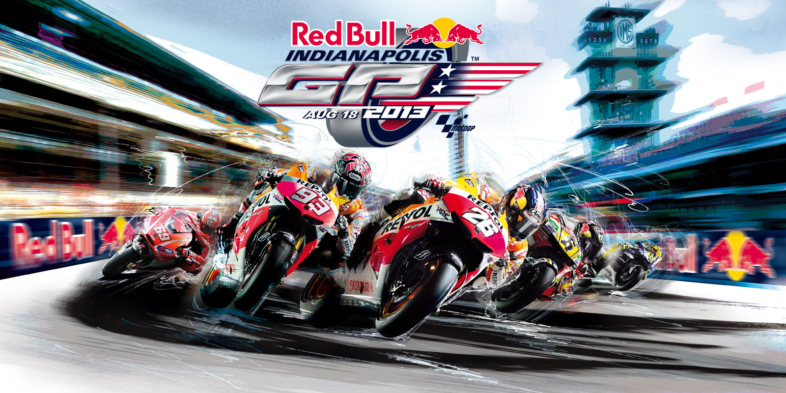 2013 MotoGP: Honda VIP Packages Available for Indianapolis - autoevolution