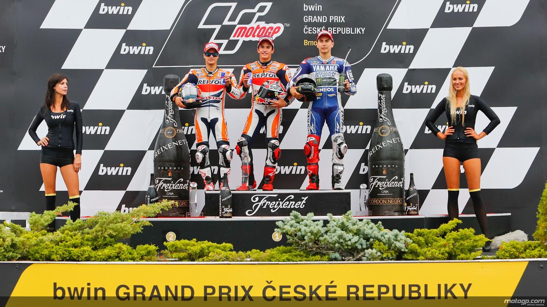 2013 MotoGP: Marquez Beats Pedrosa and Lorenzo, 4th Consecutive Victory - autoevolution