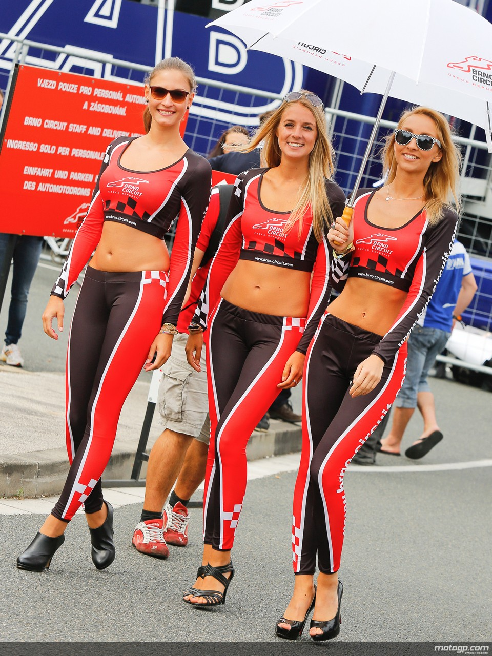 Paddock Girls At Brno