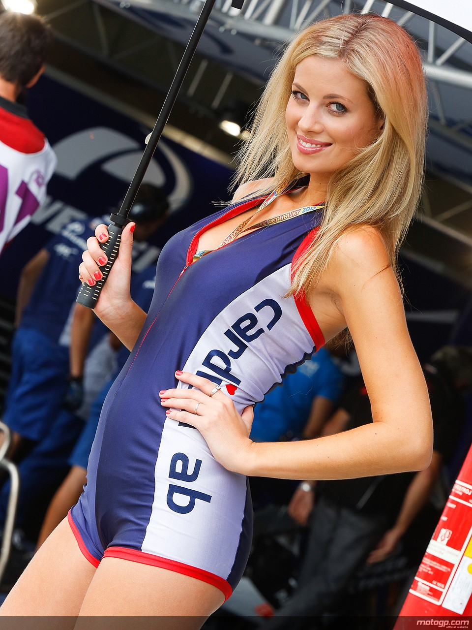 motogp czech republic paddock brno grid babes umbrella most gp moto gorgeous pit models autoevolution boostcruising promo race bike f1