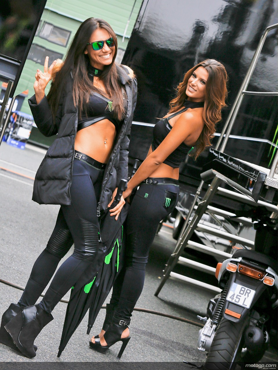 Paddock Girls At Brno