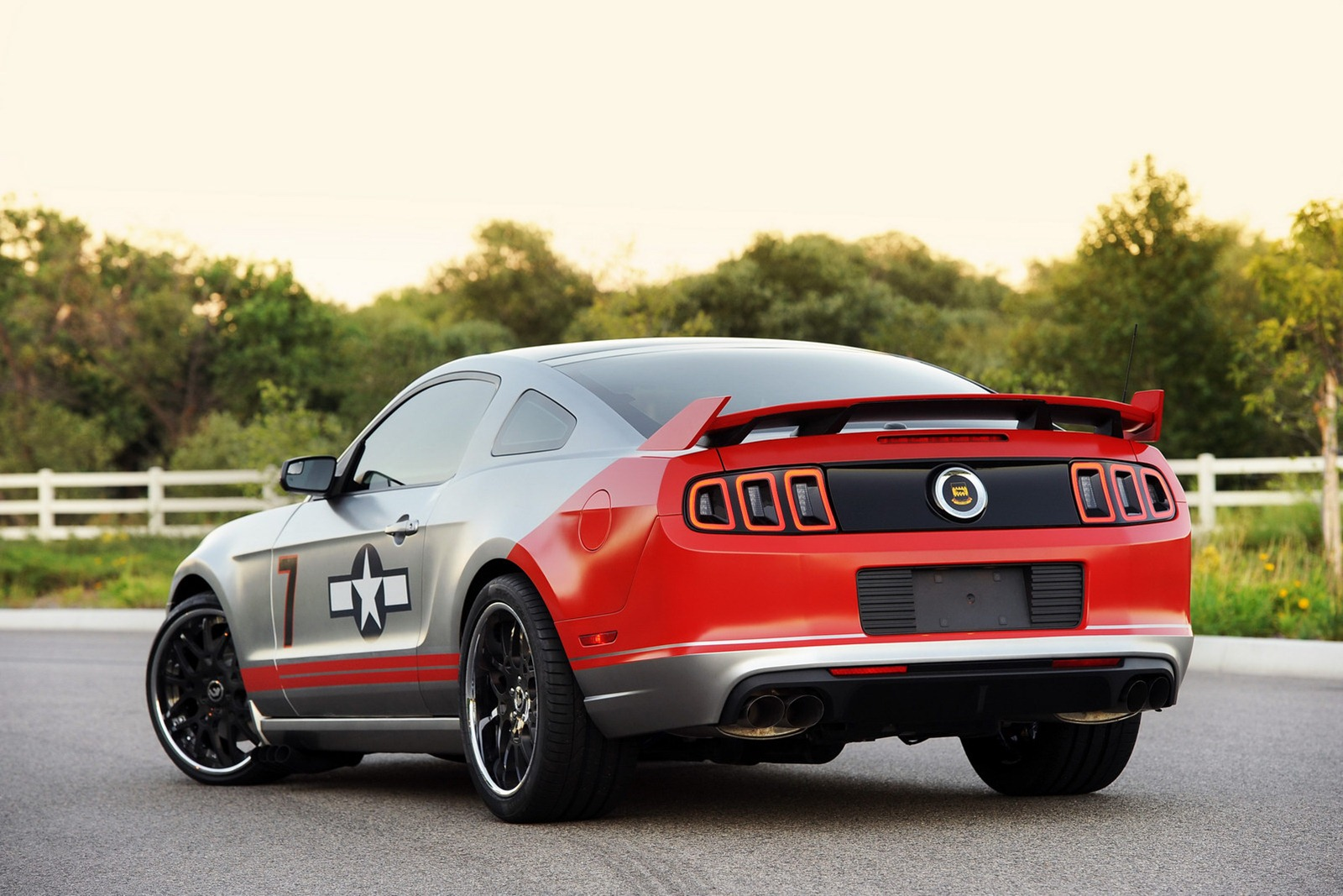 Lucky 8 Auto >> 2013 Mustang GT Livered After P-51 Fighter - autoevolution