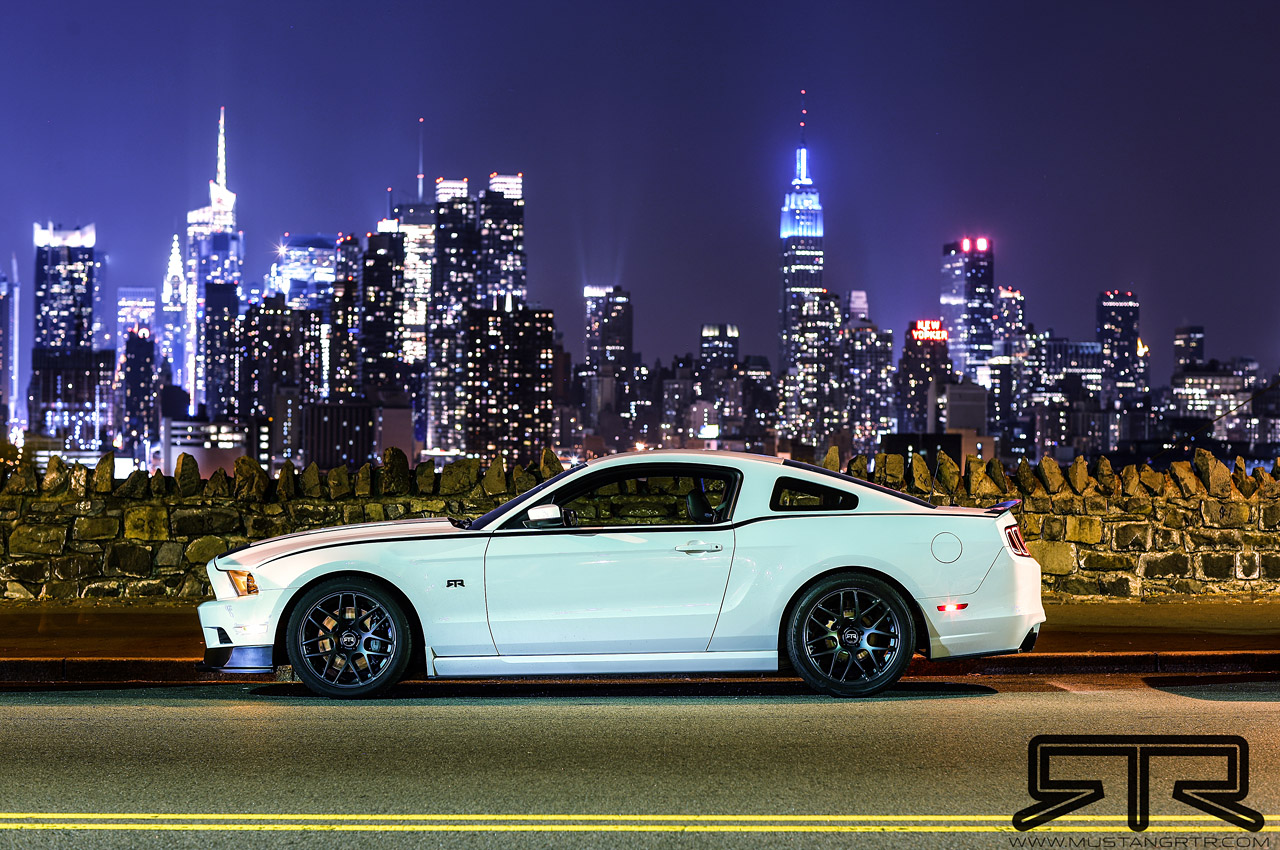 2013 Mustang Rtr Unveiled By Vaughn Gittin Jr Video