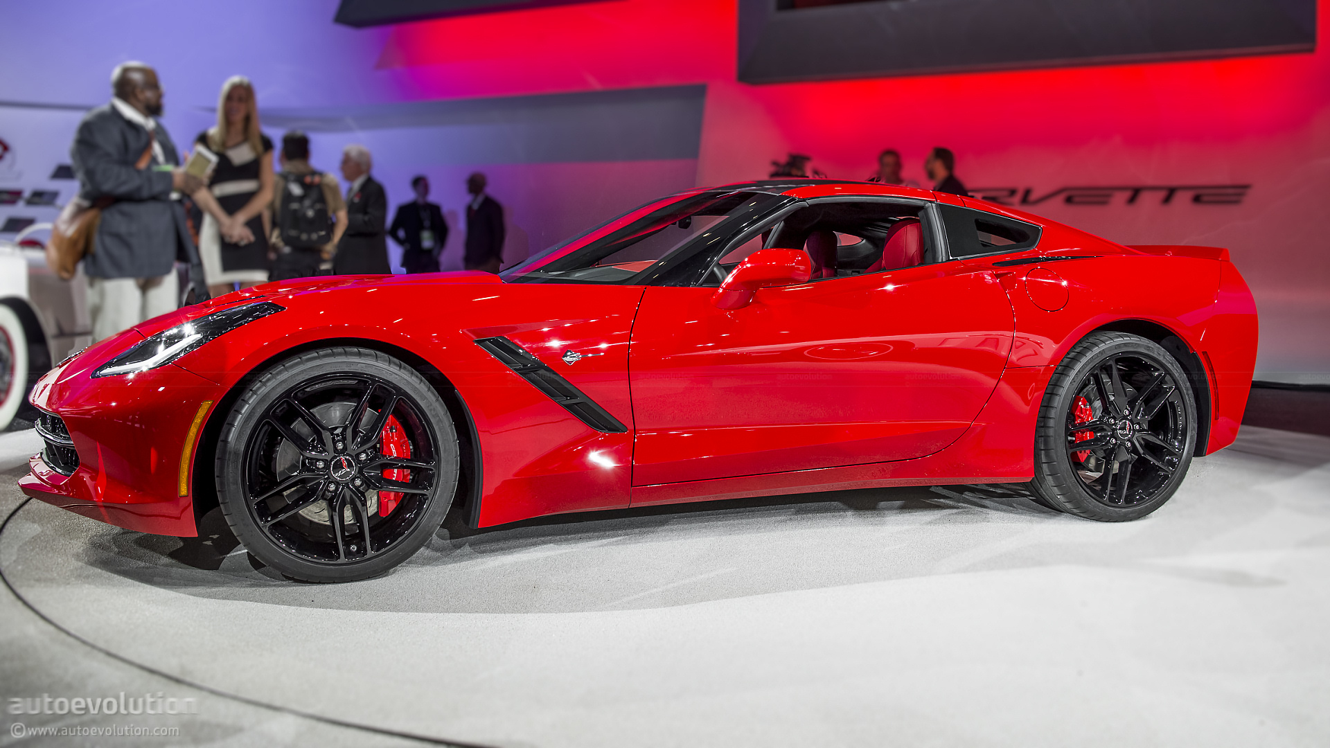 2013 Naias 2014 Chevrolet Corvette C7 Stingray In Detail