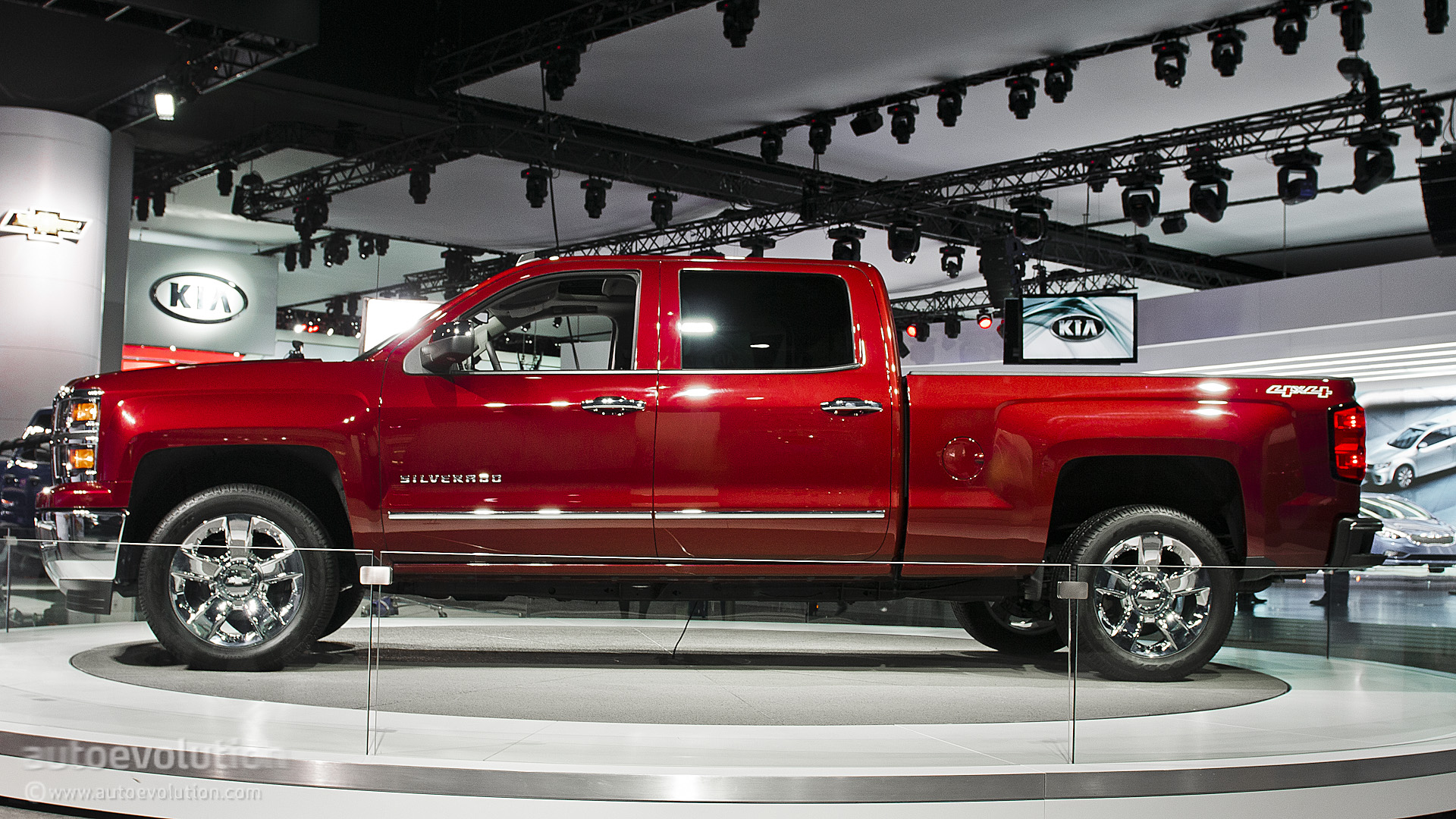 All-New 2014 Chevy Silverado - photo gallery