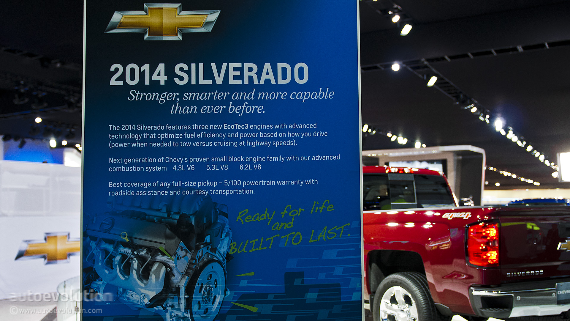 2013 NAIAS: All-New 2014 Chevy Silverado