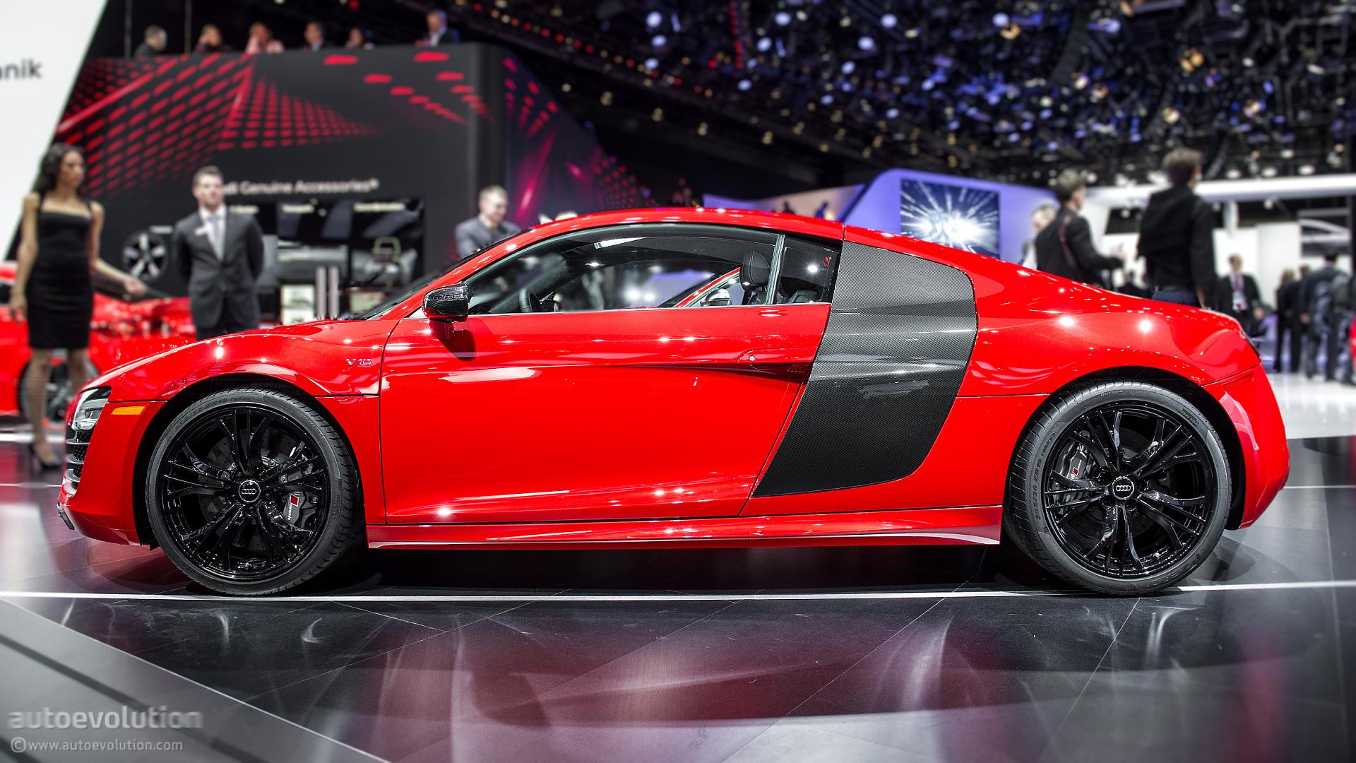 2013 NAIAS: Audi R8 Facelift [Live Photos] - autoevolution