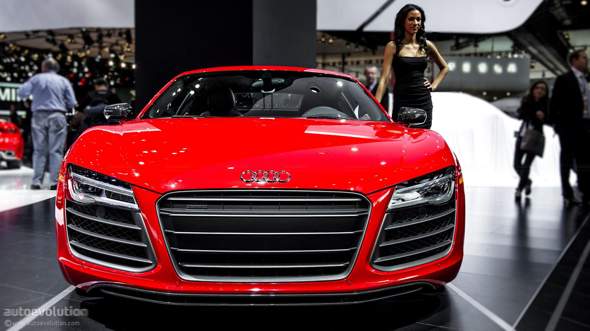 2013 Naias Audi R8 Facelift Live Photos Autoevolution