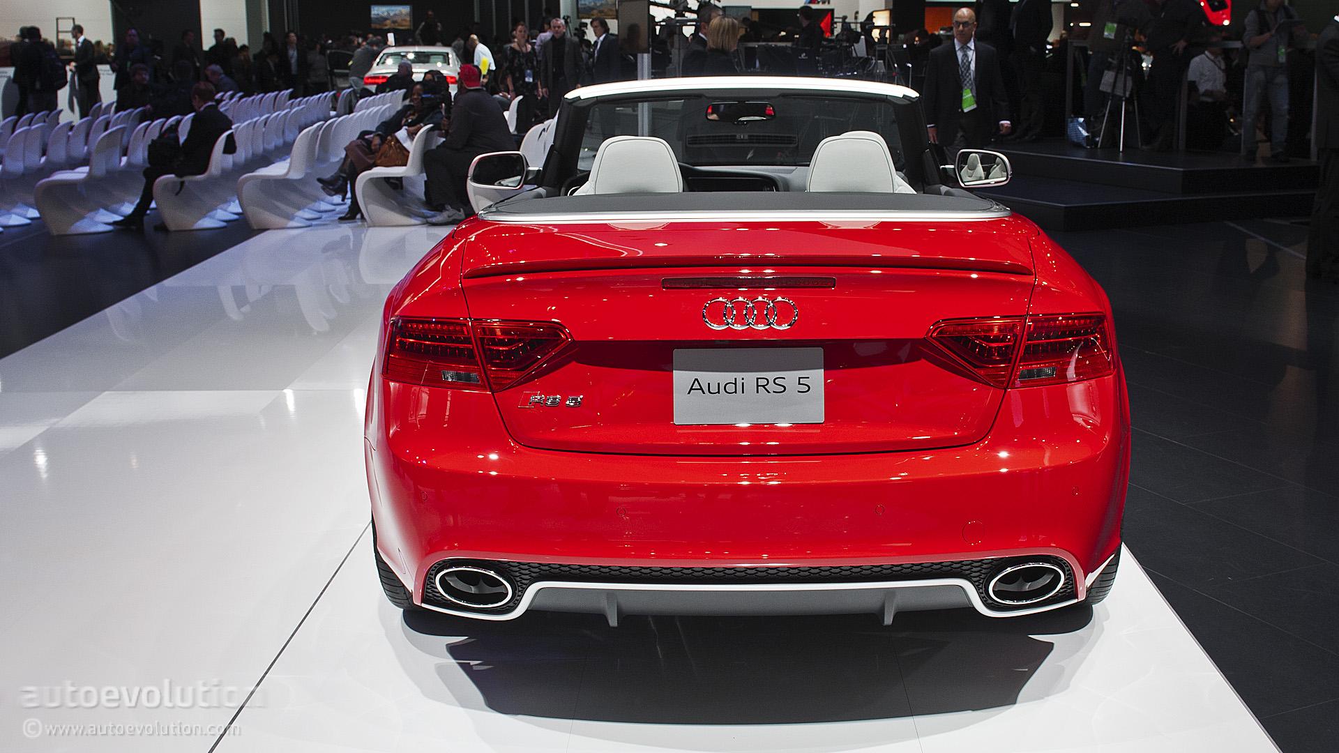 2013 NAIAS: Audi RS5 Cabriolet [Live Photos] - autoevolution