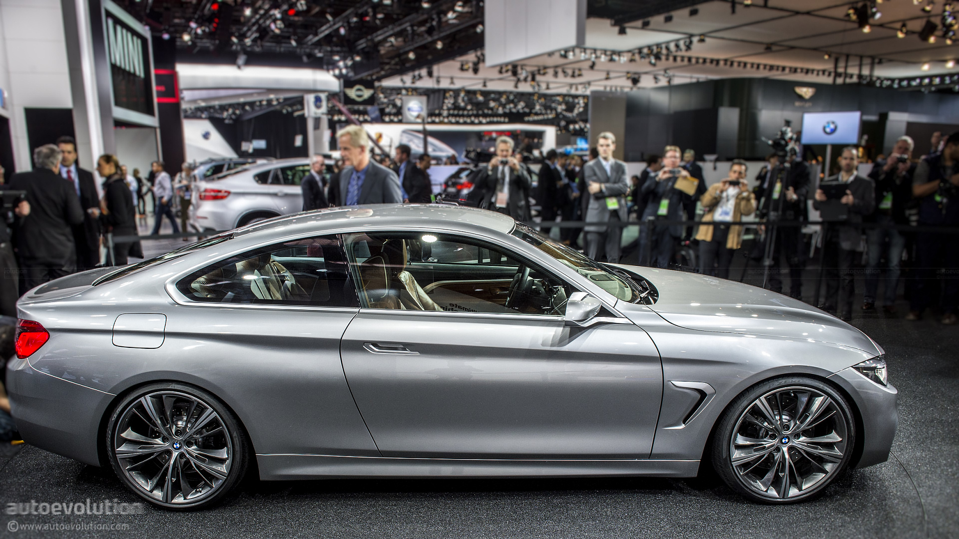 2013 Naias Bmw 4 Series Coupe Concept Live Photos