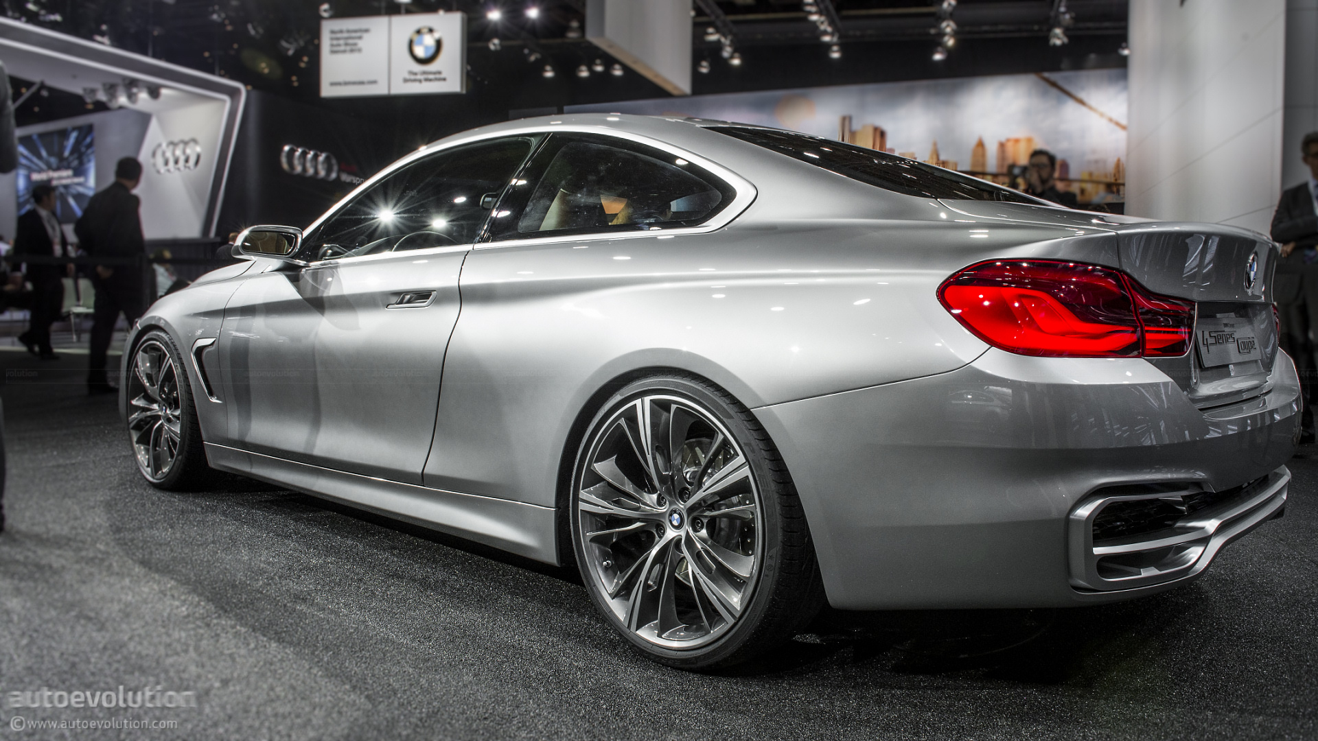 bmw 4 series gran coupe hd wallpapers autoevolution. Black Bedroom Furniture Sets. Home Design Ideas