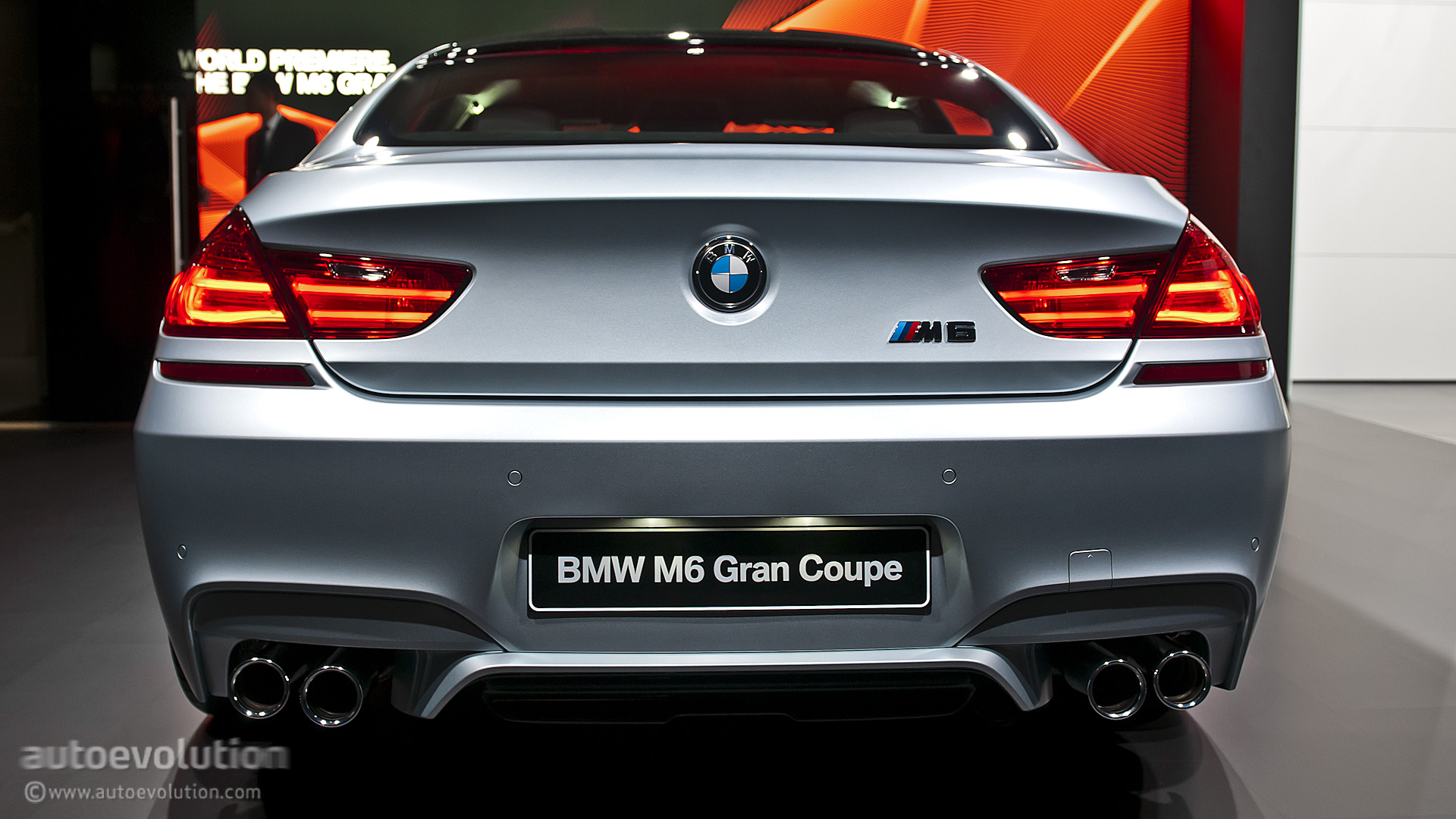 2013 naias bmw m6 gran coupe