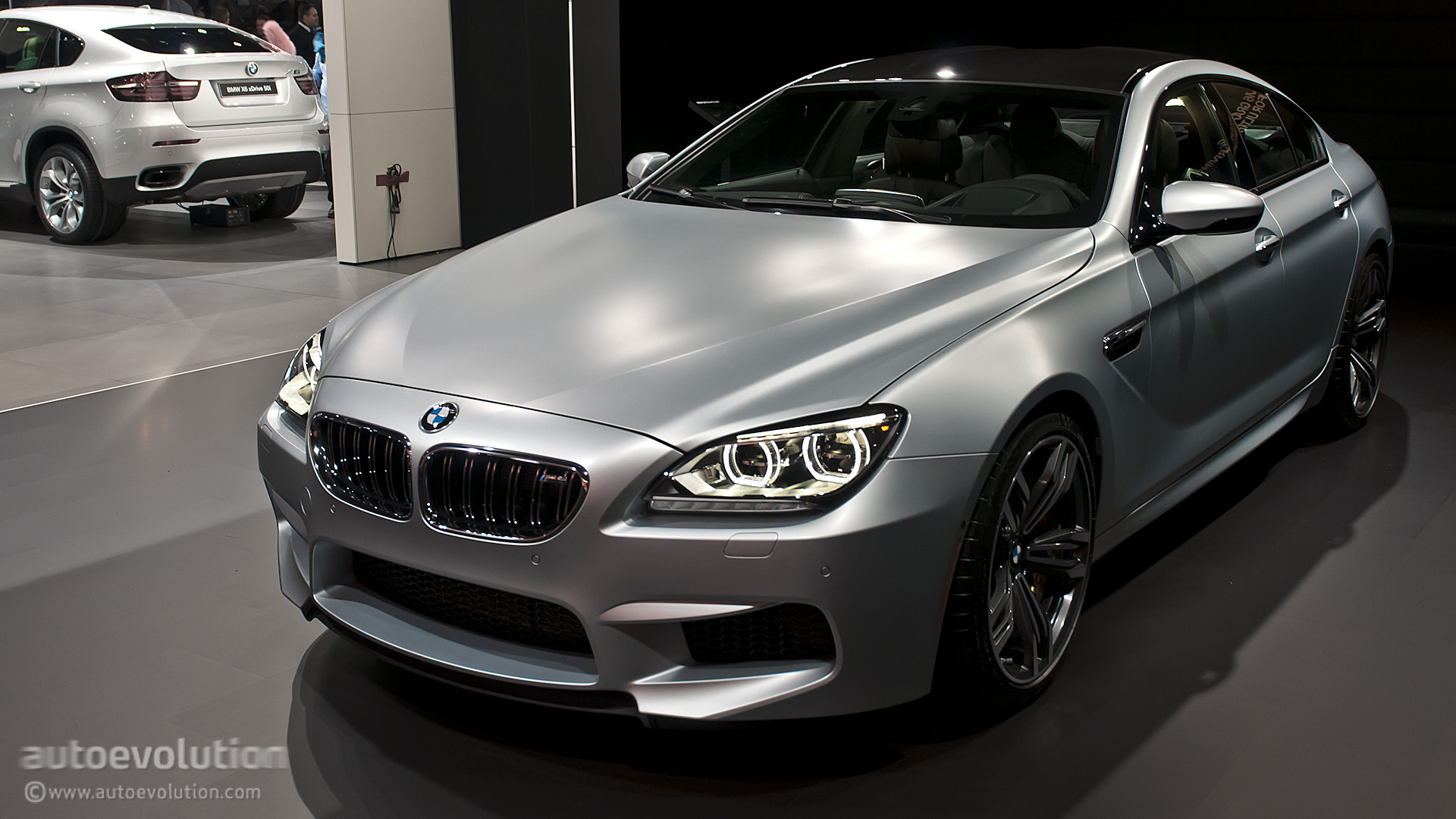 2013 Naias Bmw M6 Gran Coupe Live Photos Autoevolution