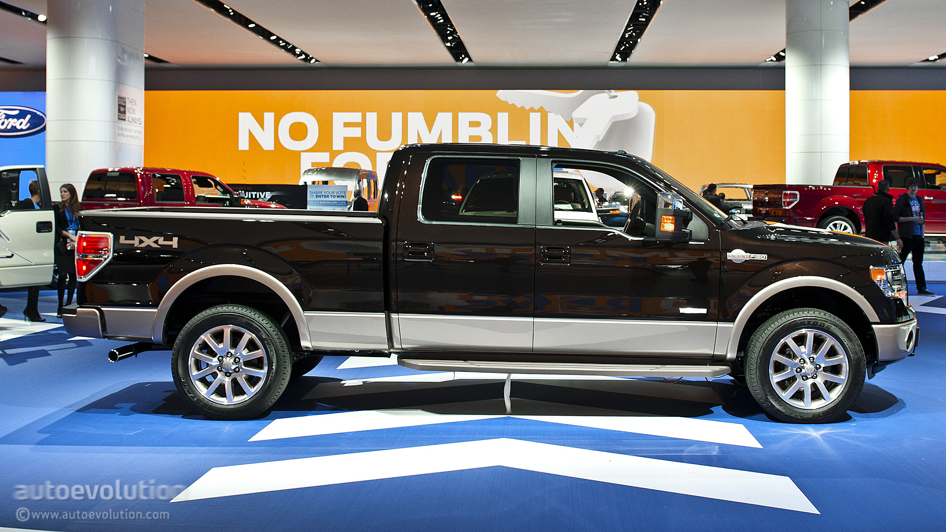 Ford F150 King Ranch >> 2013 NAIAS: Ford F-150 King Ranch Special Edition [Live ...