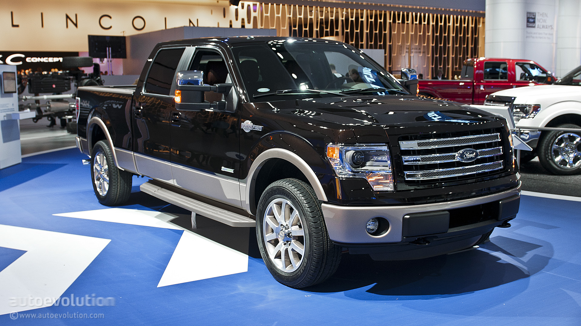 2013 naias ford f 150 king ranch special edition live photos autoevolution. Black Bedroom Furniture Sets. Home Design Ideas