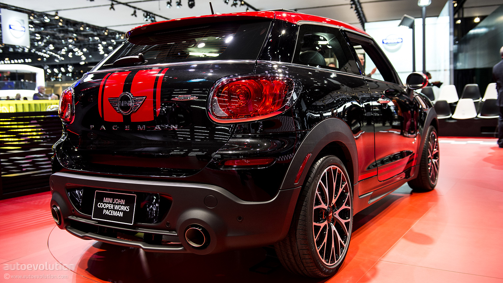 2013 naias mini paceman john cooper works live photos autoevolution. Black Bedroom Furniture Sets. Home Design Ideas