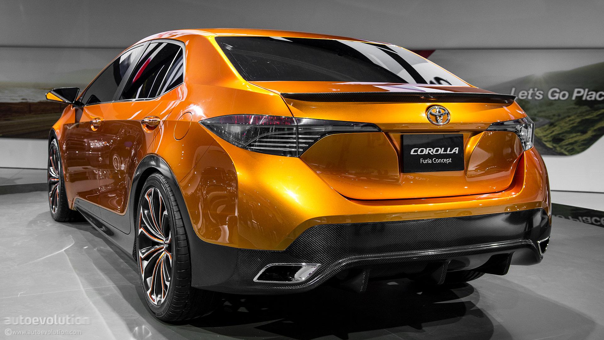 2013 Naias Toyota Corolla Furia Concept Live Photos
