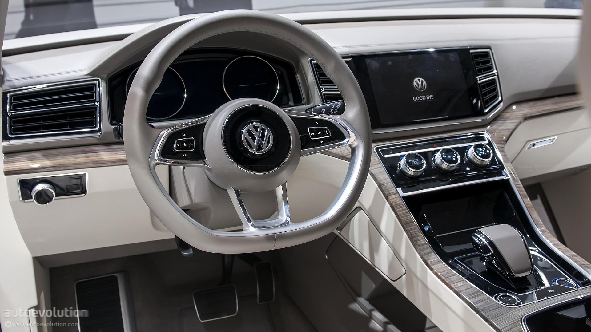 2013 NAIAS: Volkswagen CrossBlue Concept [Live Photos] - autoevolution