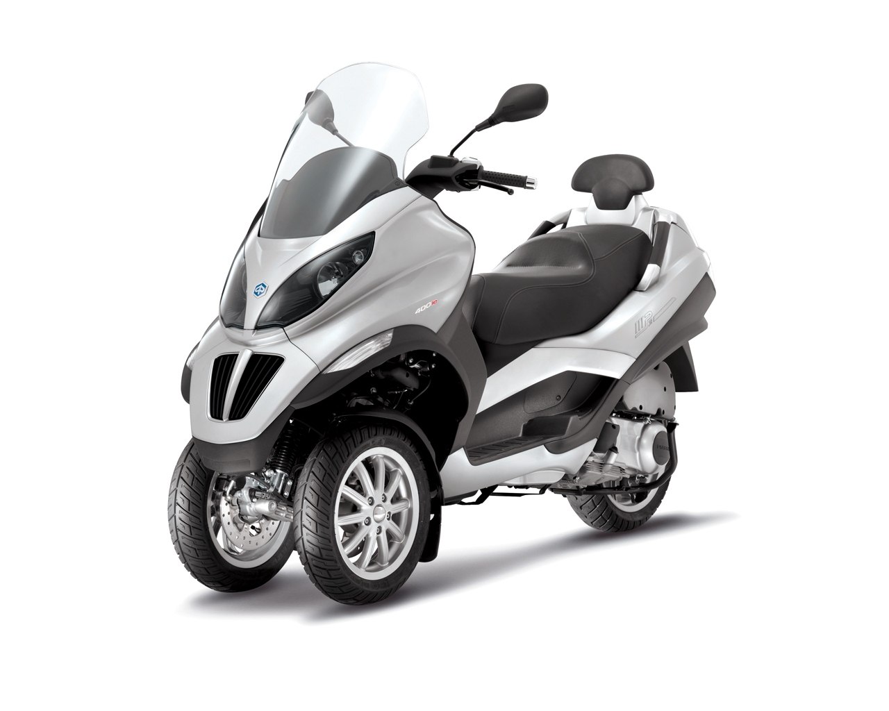 2013 piaggio mp3 400, awesome 3-wheeled commuting - autoevolution