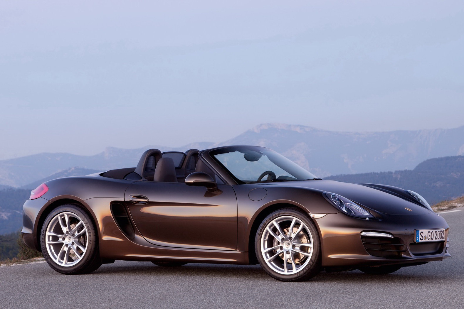 2013 porsche boxster 981 is here autoevolution. Black Bedroom Furniture Sets. Home Design Ideas