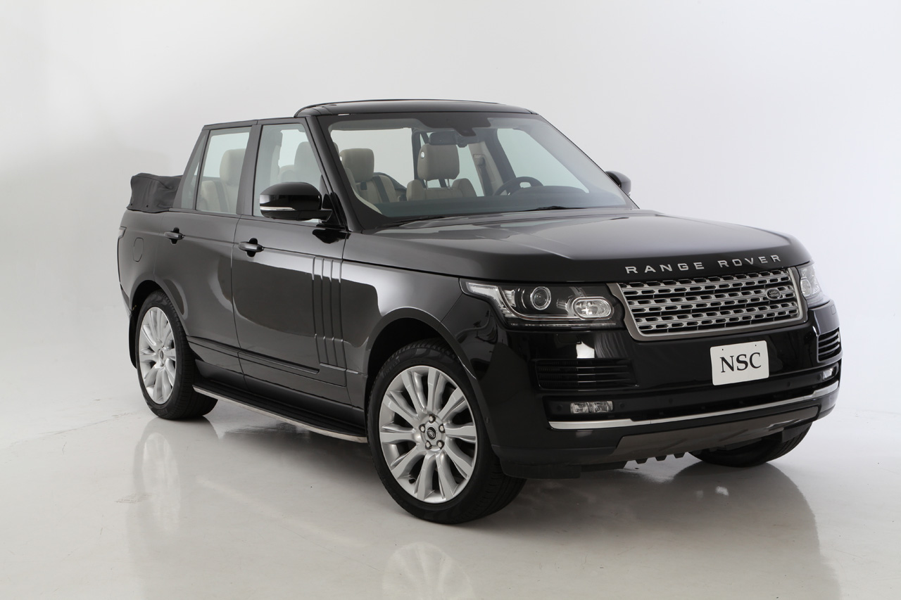 2013 range rover gets chopped to a convertible autoevolution. Black Bedroom Furniture Sets. Home Design Ideas