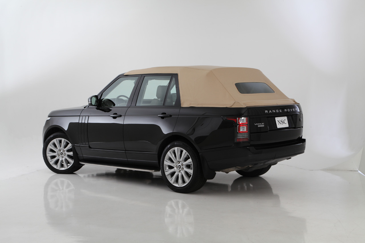 2013 Range Rover Gets Chopped to a Convertible - autoevolution