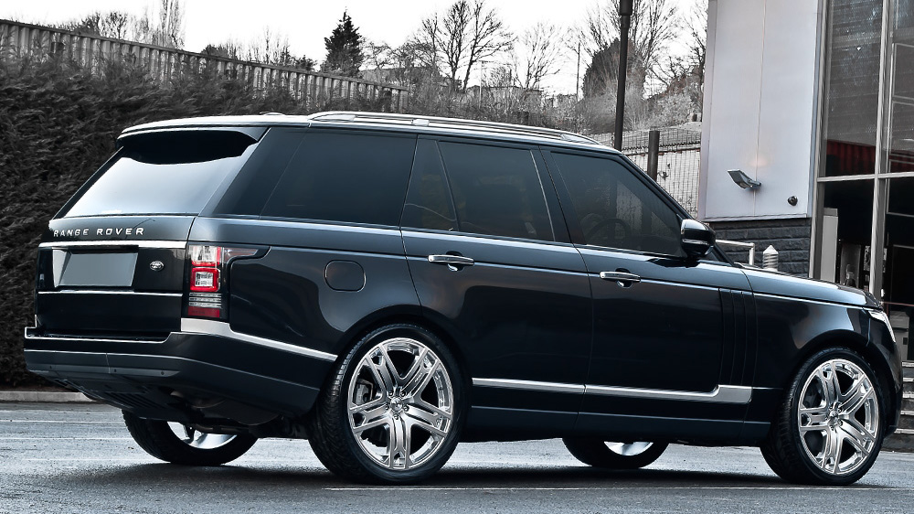 2013 Range Rover Gets Custom Rs600 Wheels From Kahn